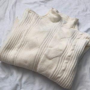 Marled Knit Turtleneck